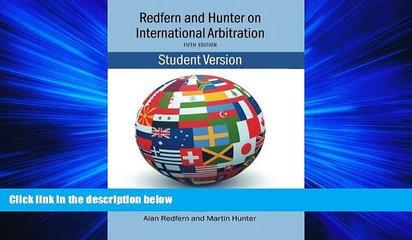 GET PDF  Redfern   Hunter on International Arbitration