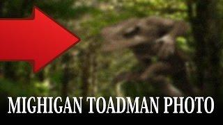 Michigan Toadman Caught On Camera | Strange Scary Creature Photo | NEW REAL 2016