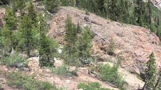 "Crater Lake California Part 2 ""Deaths Waterslide"""
