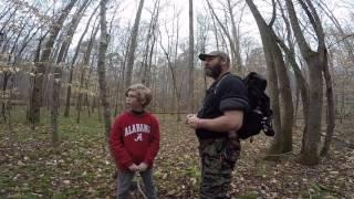 Tracking Bigfoot With Ken Part Two ! Alabama Cryptozoology Footage Captured