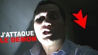 J'ATTAQUE LE DÉMON - CRI DIABOLIQUE (Chasseur de Fantômes) [Explorations Nocturnes] Urbex Paranormal