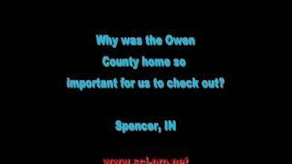 Busted! Caught by Police at the Owen County Home in Spencer, IN (around 2010)