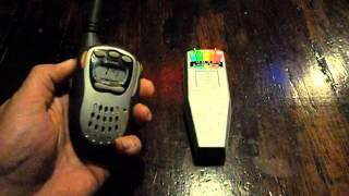Part 2 of our Cell Phone Test using a 2-Way Radio @CapsParanormal