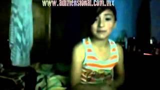 Fantasma corre detrás de una niña (México)