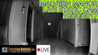 Malvern Manor Livestream 10/20/17