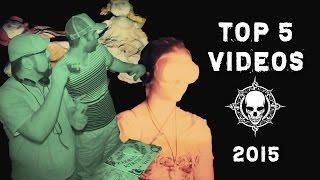 Top 5 Dead Explorer Paranormal Videos 2015!