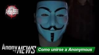 Como unirse a Anonymous