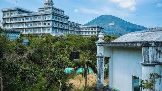 ABANDONED Royal Hotel - Built on a Volcano !
