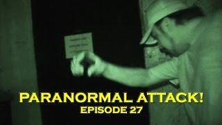 EXTREME Ghost Attack Caught on Tape!!! SCARIEST Paranormal Activity!!! (DE Ep. 27)
