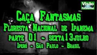 Caça Fantasma A Liga da Band na Floresta Nacional de Ipanema parte1
