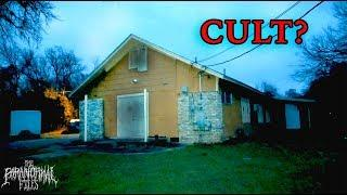 Does A CULT Meet In This Abandoned Church I Found? | THE PARANORMAL FILES