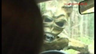 Contact avec un alien vidéo CHOC!!