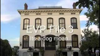 Lemp Mansion EVP - Moaning 2