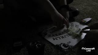The G Team Paranormal Investigators's broadcast (Haunted Ouija board)!!