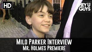 Milo Parker Interview - Mr. Holmes Premiere