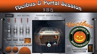 Vocibus Ghost Box & Portal Session on 9-19-15