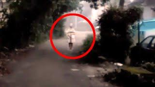 Horrifying Demon Caught From A Most Haunted Village Road!! Paranormal Activity Caught On Camera!!
