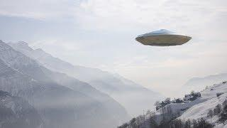 Mysterious UFO With Lights Caught ON Camera!! Extra Terrestrial Life 2017
