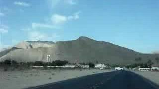 Car Ride To Lone Mountain