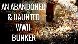 URBEX OF HAUNTED FORMER WWII AIRFIELD BUNKER SITE - VERY CREEPY