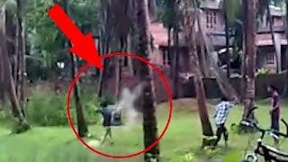 Boy Crash With Ghost! Unbelievable footage Caught on Camera | Ghost Attacks Children | Scary Videos