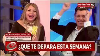 Adriana Isaurralde en Cronica con Héctor Rossi | TAROT DE LOS SIGNOS