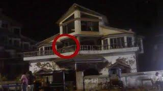 Haunting Ghostly Figure Caught on Camera !! Real Ghost Scary Video Compilation 2017