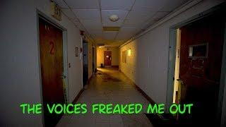 Voices In The Basement Scare - ABANDONED HOSPITAL