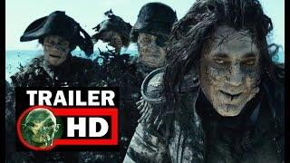 Pirates of The Caribbean 5- oficial trailer FULL HD 2017 SUB ESPAÑOL
