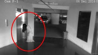 Real Ghost Caught On Tape! Security Camera Parking Lot Footage!!