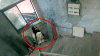 CCTV Footage Of Ghost Roaming Around An Eerie Room!!