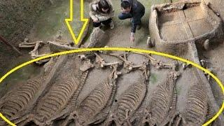 2,500 Year Old Royal Tomb Complex with Horse Burial Pit Unearthed in China
