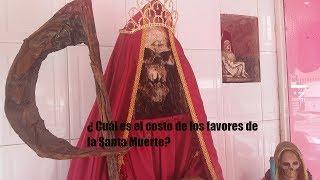 La Santa Muerte y los sacrificios humanos Eva Moreno habla de eso