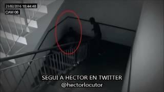 HOMBRE SOMBRA GRABADO EN VIDEO