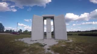 "Georgia Guidestones Footage (Strange road side ""America's Stonehenge."") Doomsday Instructions"