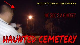 HAUNTED SPRING HILL CEMETERY (LOTS OF THINGS LURKING IN THE DARK!!!