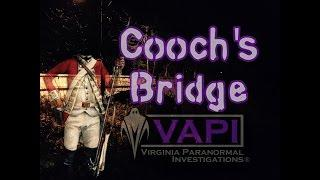 Cooch's Bridge in Newark, Delaware - Virginia Paranormal Investigations