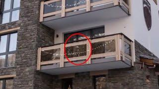 Real Ghost In My Friend's Luxury Apartment!! Supernatural Demon On Tape!!