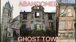 EXPLORING A HUGE ABANDONED GHOST TOWN (CHURCH, MANSION, AND MORE)