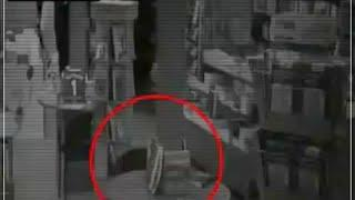 Ghostly Shape Passing Caught on Camera From a Haunted Building, Scary Video 2018