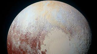 New Horizons Pluto displays rippling terrain