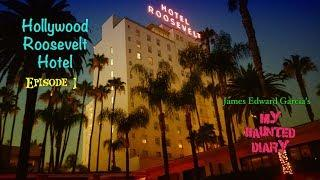 Hollywood Roosevelt Hotel Abandoned Footage Paranormal Investigations P1 My Haunted Diary