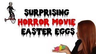 Surprising Easter Eggs in Horror Movies!
