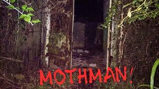 MOTH MAN HUNT IN TNT AREA all alone! Crazy army bunker exploration in the woods of Point Pleasant