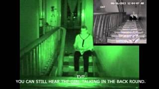Poltergeist Activity At The Whaley House (Family First Paranormal)