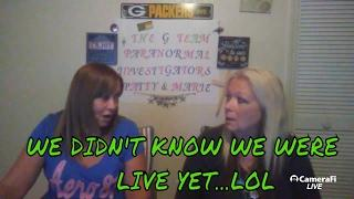 The G Team Paranormal LIVE EVPS & FAN MAIL
