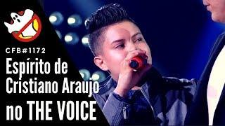 Espírito do Cristiano Araujo no The Voice Kids CFB#1172 - Caça Fantasmas Brasil