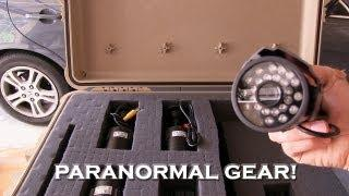 Paranormal Ghost Hunting Video Equipment!