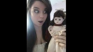 Prissy the Haunted Doll