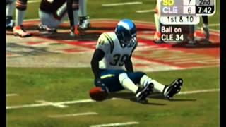 NFL 2K5 Season Mode AFC Conference Championship San Diego Chargers Vs Cleveland Browns Full Game